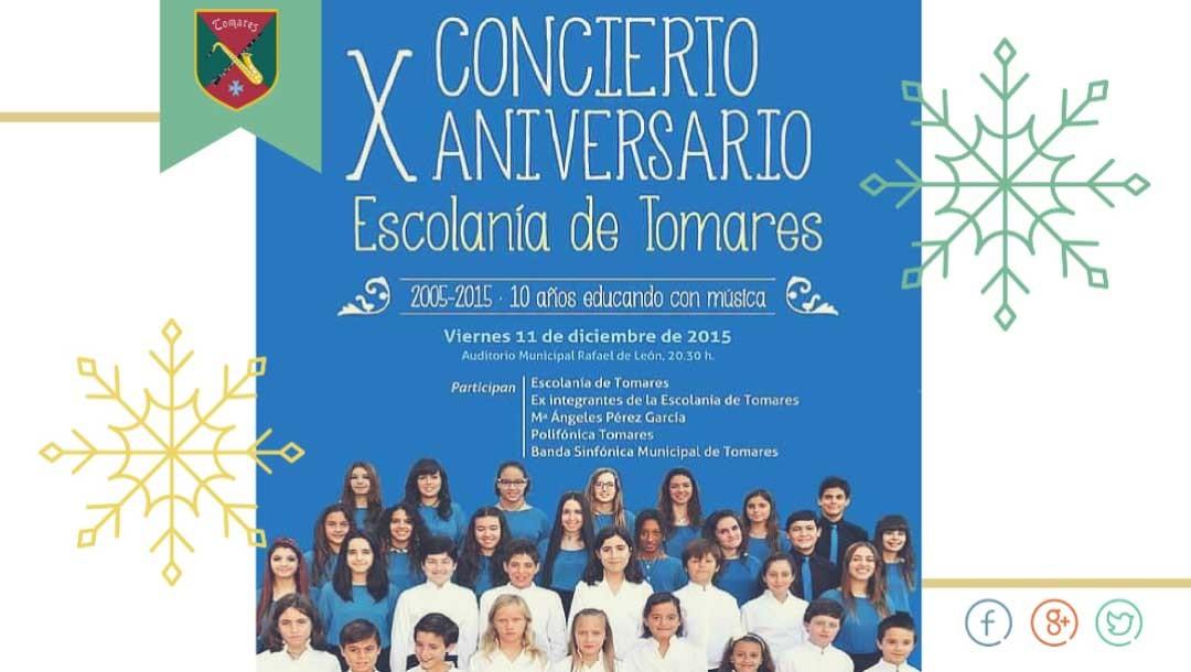 X Concierto Aniversario Escolanía de Tomares
