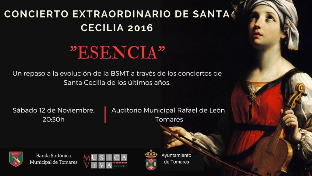 """Concierto extraordinario de Santa Cecilia, """"ESENCIA"""""""