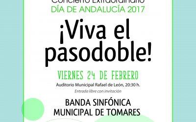 """Concierto día de Andalucía en Tomares: """"¡VIVA EL PASODOBLE!"""""""