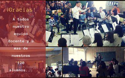 Gracias a nuestros alumnos – Academia Banda Sinfónica de Tomares