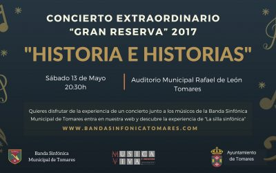 """Concierto Gran Reserva 2017, """"Historia e Historias""""."""
