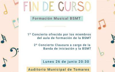 Audición de Fin de curso Aula de Formación BSMT