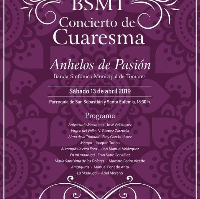 Concierto de Cuaresma con la Banda Sinfónica de Tomares
