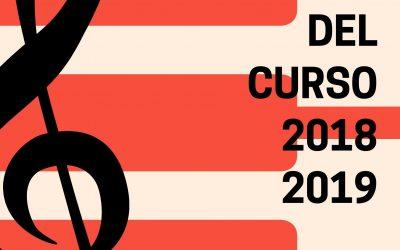Clausura del Curso Académico 2018/2019