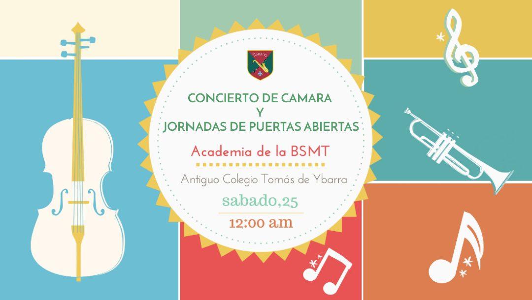 """Concierto de """"Música de Camara"""" y Jornada de puertas abiertas."""