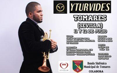 """""""Yturvides"""" en Tomares, cursos de trompeta los días 11 y 12 julio"""